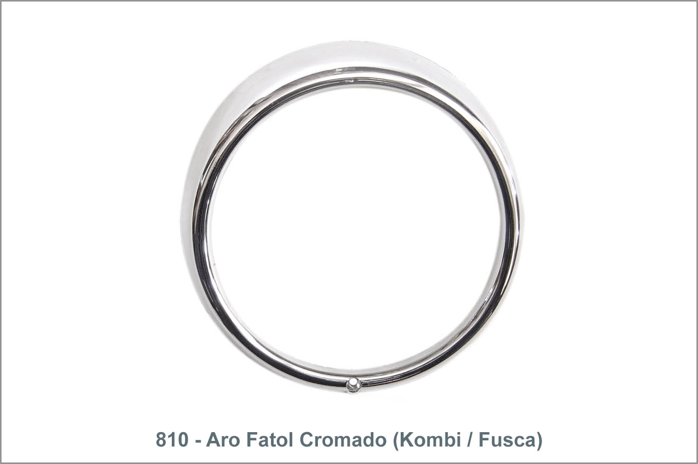 810 - Aro Farol Cromado (Kombi / Fusca)