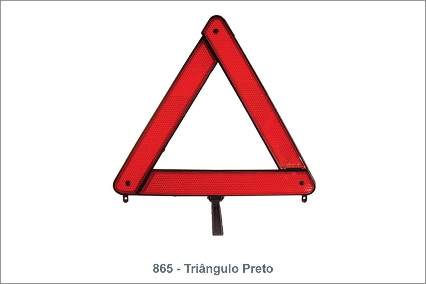 865 Triângulo Preto