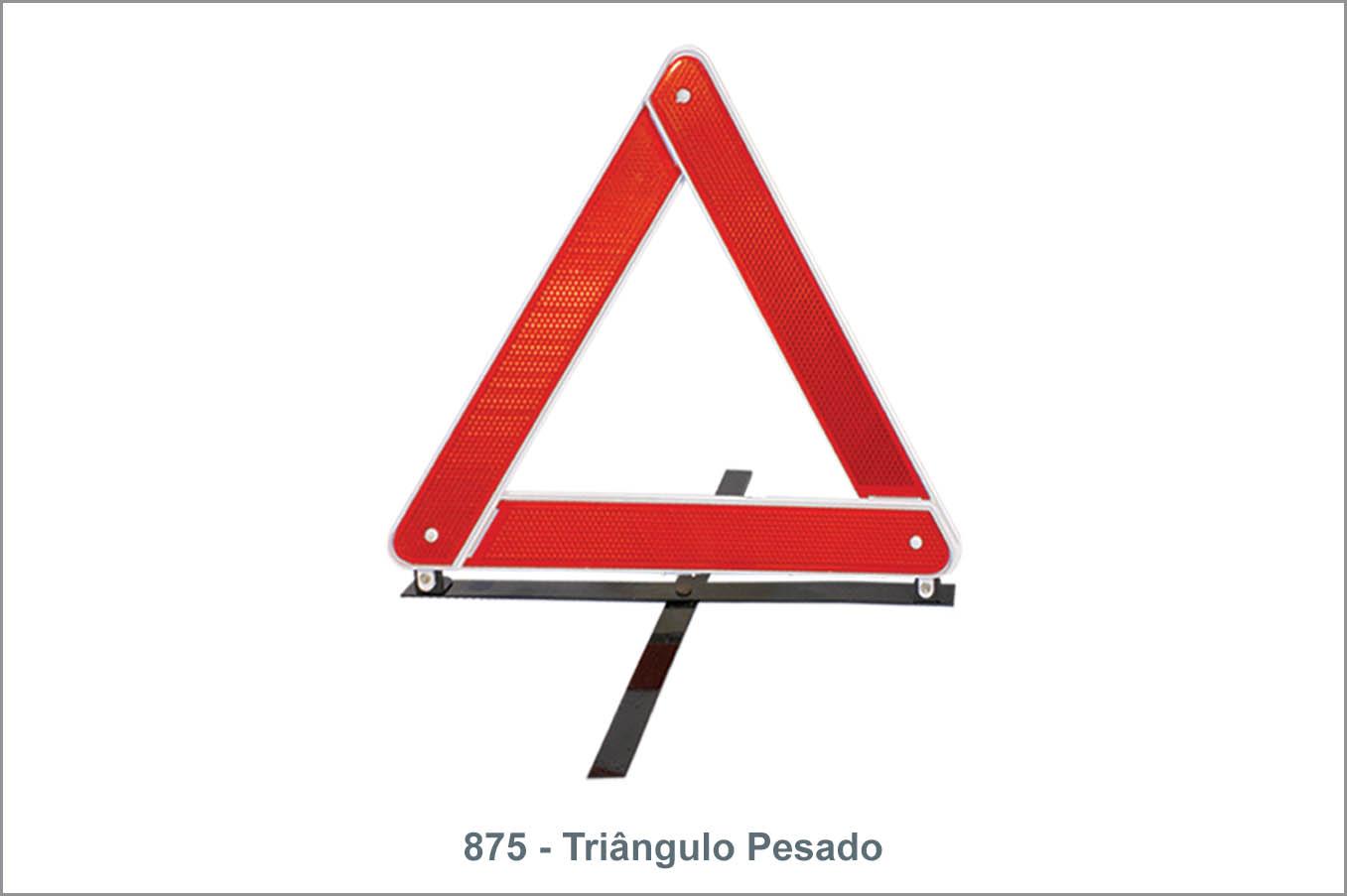 875 Triângulo Pesado
