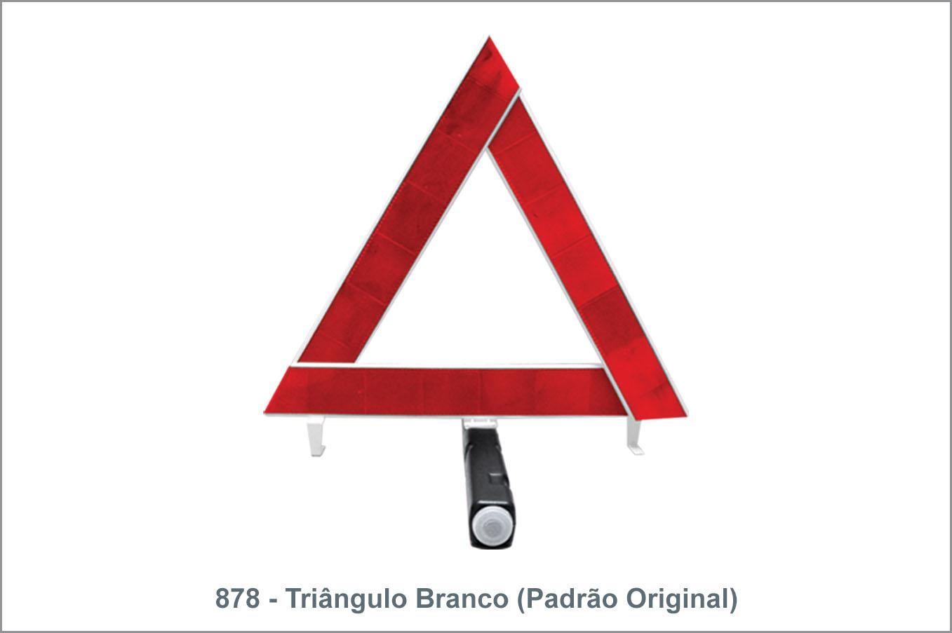 878 Triângulo Branco Padrão Original