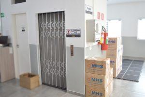 MHS Setor - Estoque - Elevador