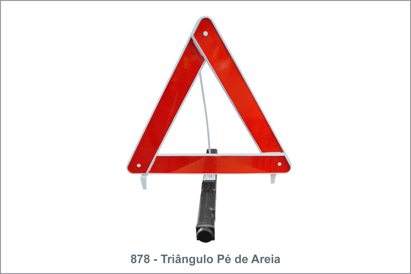 878 - Triângulo Pé de Areia